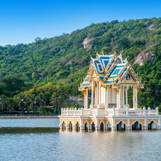 Khao Tao reservoir in Thailand