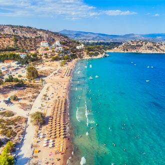 Tolo Beach in Peloponnesos