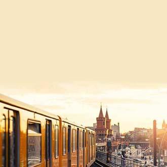 Trein in Berlijn