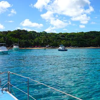 Tropische baai in sosua