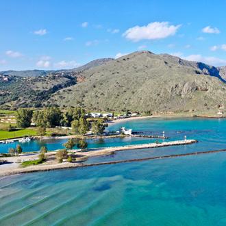 Uitzicht-landschap-Georgioupolis-Kreta-Griekenland
