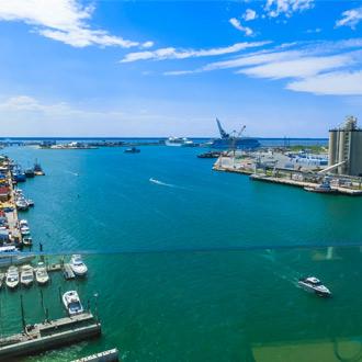 Uitzicht op de Cape Canaveral in Orlando, Florida