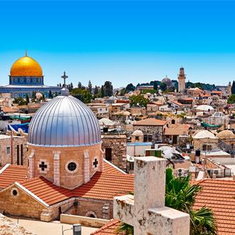 Uitzicht over de stad Jeruzalem