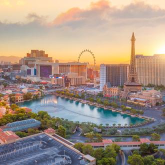 Uitzicht op Las Vegas