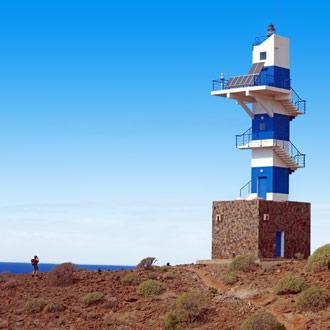 Vuurvoren van Puerto de Mogan