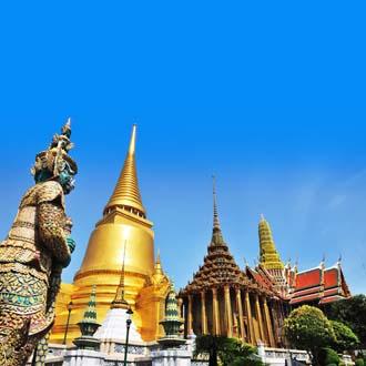 Wat Phra Keaw tempel Gouden tempel Bangkok Thailand