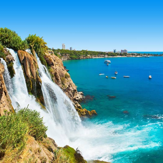 Duden Waterval in Antalya