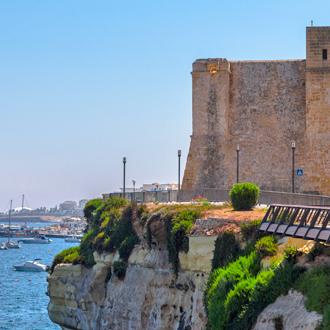 De Wignacourt toren in St. Pauls Bay op Malta