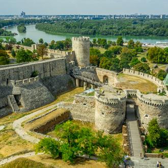 Zindan gate Belgrado, in Servie