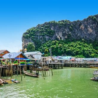 Lokale sfeer in Phang Nga Bay