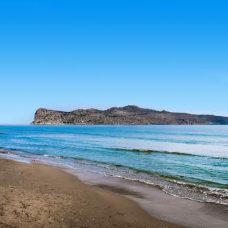 Agioi Theodoroi aan de kust van Kreta Griekenland