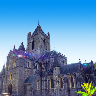De Christ Church Cathedral in Dublin