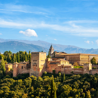 Foto van Alhambra in Granada