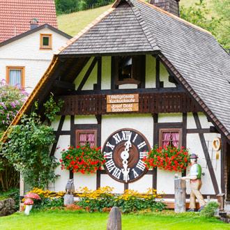 Typisch huisje Schwarzwald