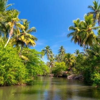 Kanaal in Negombo