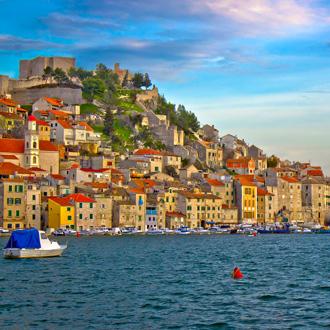 Kleurrijk Noord-Dalmatië aan de Adriatische Zee