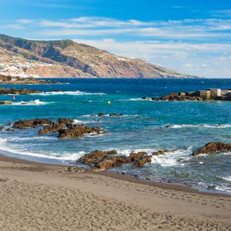 kustlijn strand los cancajos
