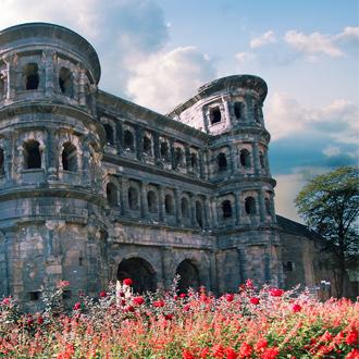Porta Nigra in de Duitse stad Trier