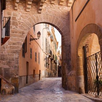 Oude stad van Palma de Mallorca op Mallorca