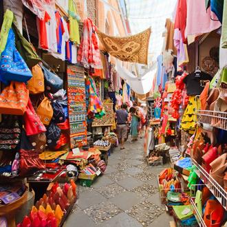 Straatmarkt in Granada