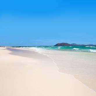 Zandstrand van Corralejo, Fuerteventura