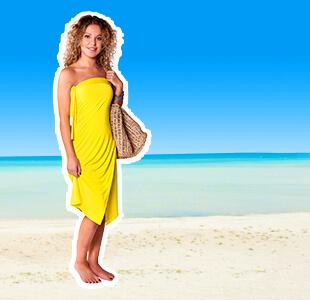 gele dress