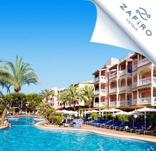 Zwembad met hotel van ZAFIRO hotels