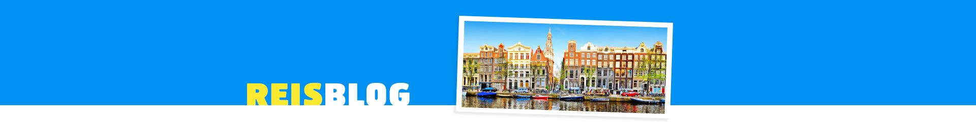 Grachten in een van de steden van Nederland
