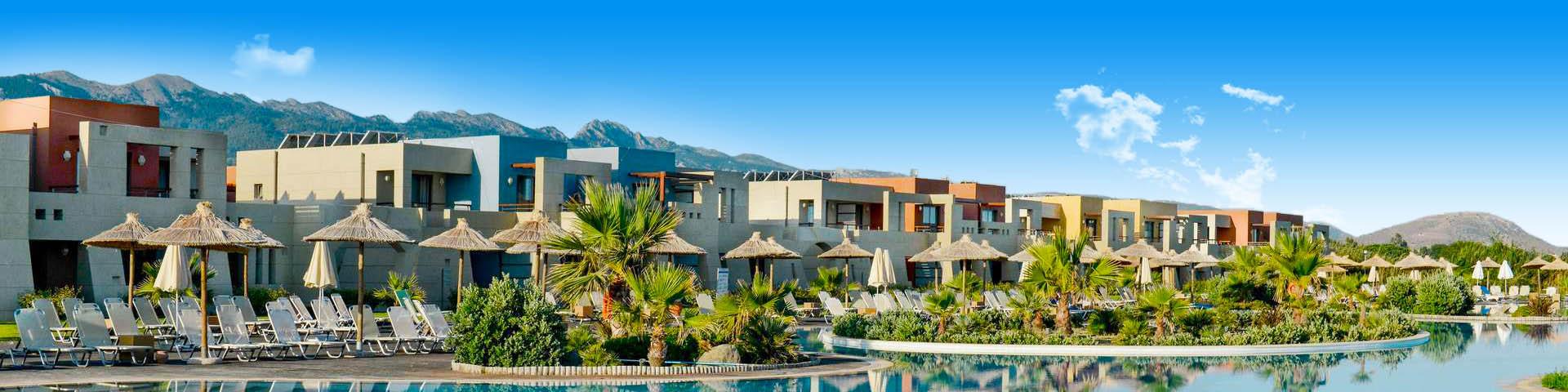 All inclusive resort met mooi zwembad in Kos, Griekenland