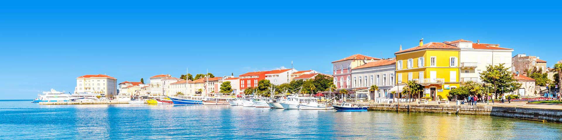 Haven stadje in Kroatië