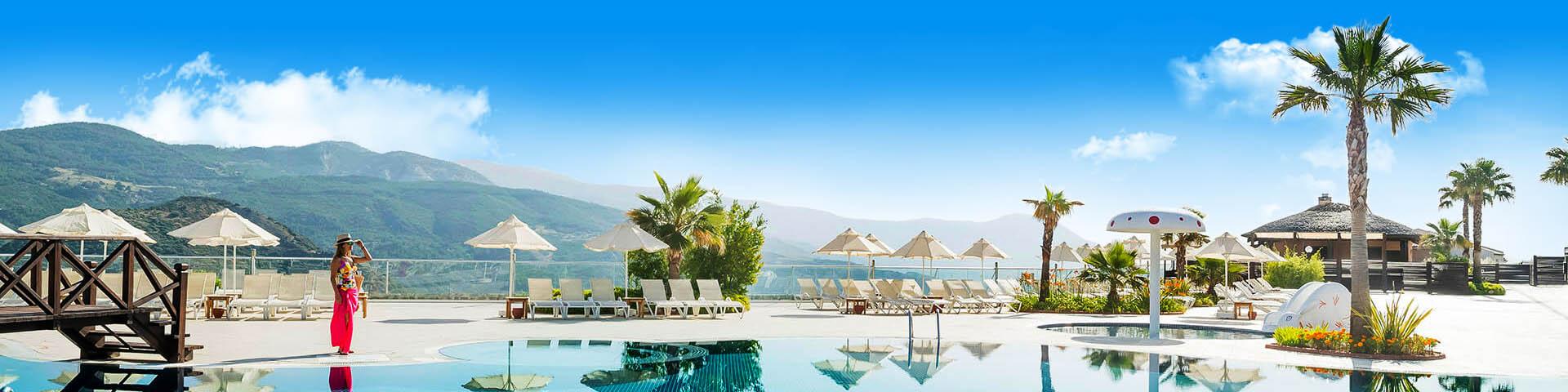 Luxe all inclusive hotel in Kusadasi in Turkije