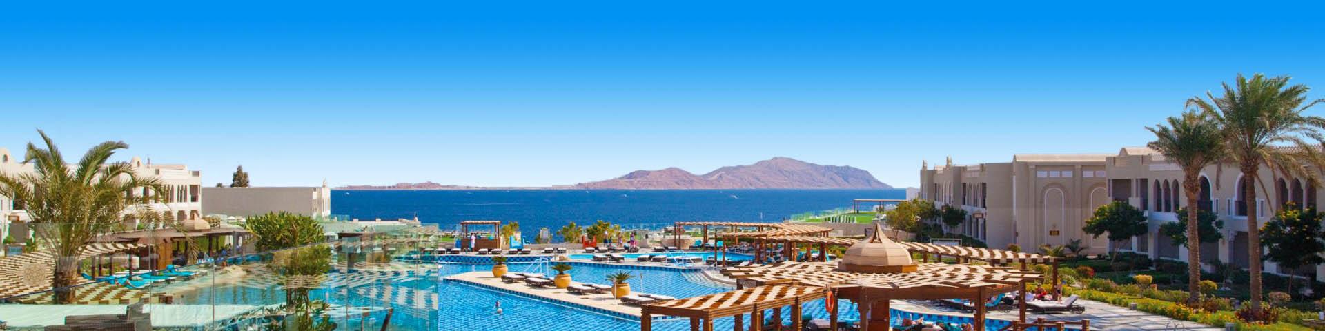 Luxe all inclusive resort aan de Rode Zee van Egypte