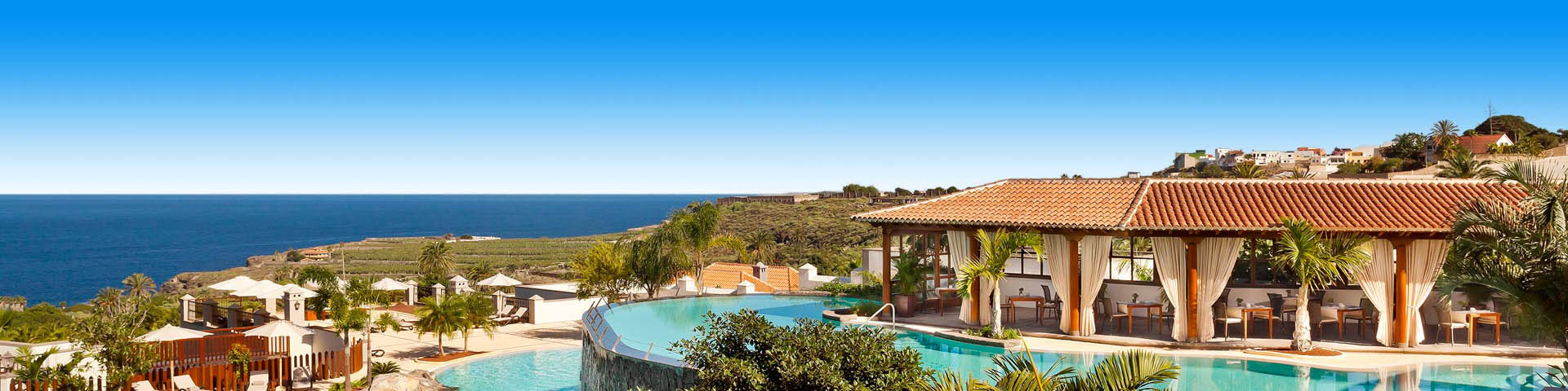 Luxe all inclusive resort met zwembad op Tenerife
