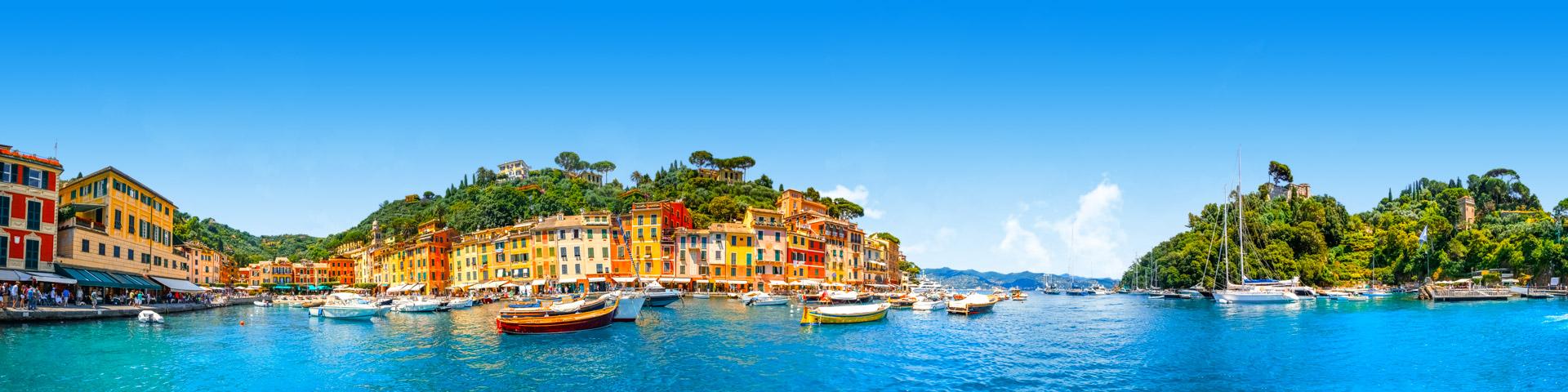 Dorpje aan een van de Italiaanse meren
