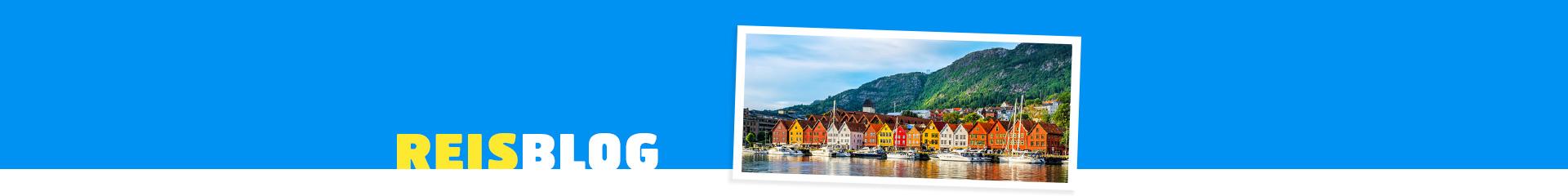 Vrolijke huisjes in Noorwegen