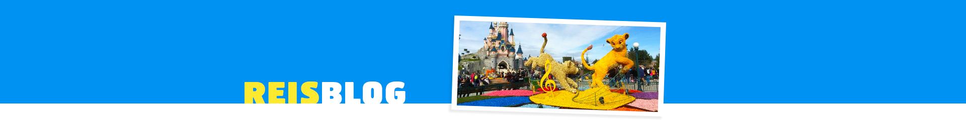 Disneyland Parijs kasteel met Simba
