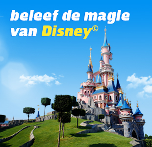 Kasteel in Disneyland Parijs