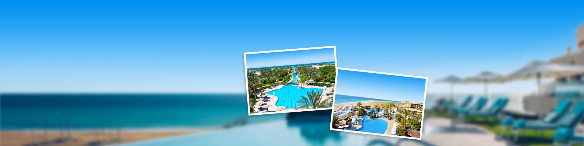 Hotels van touroperator FTI met grote zwembaden