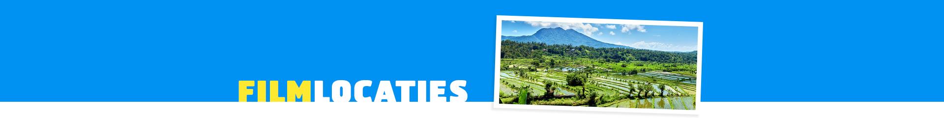 Filmlocatie Eat, Pray, Love - Prachtige rijstvelden