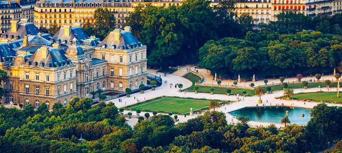 Jardim du Luxembourg in Parijs