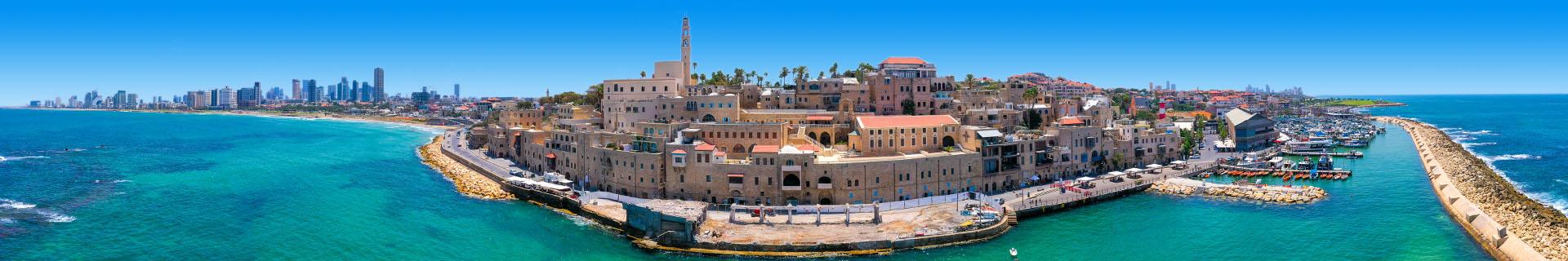 Uitzicht op het geweldige Israel