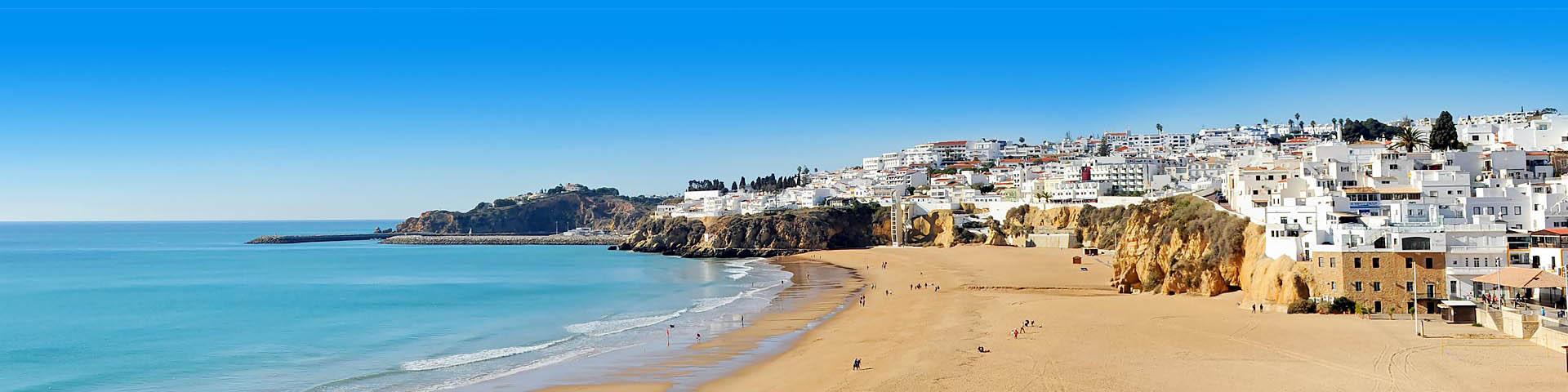 Kustlijn in Portugal