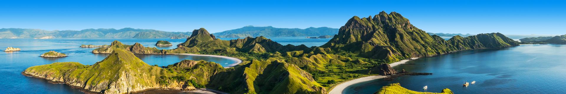 Prachtig natuurlandschap van Indonesie