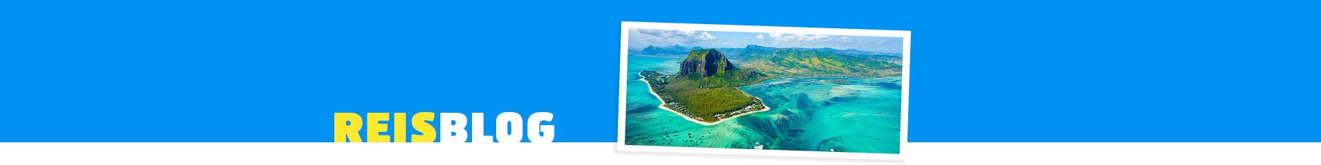 Uitzicht op Le Morne in Mauritius