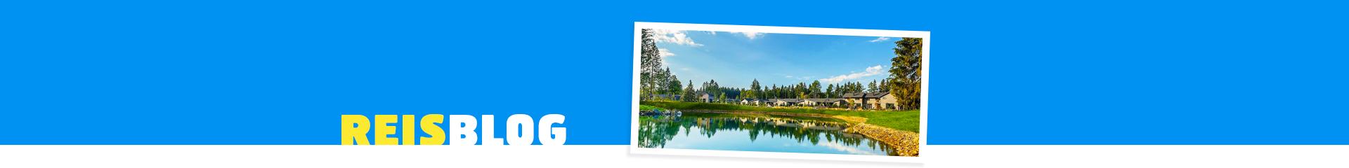 Uitzicht op een meer en bomen op de achtergrond bij Vakantiepark Center Parcs Allgau