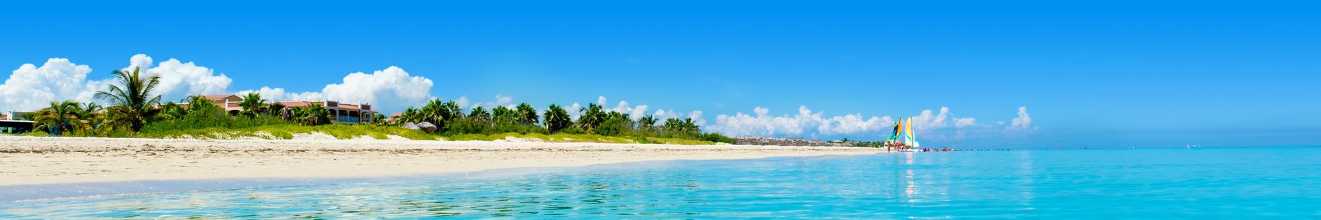 Het prachtige strand van Cuba
