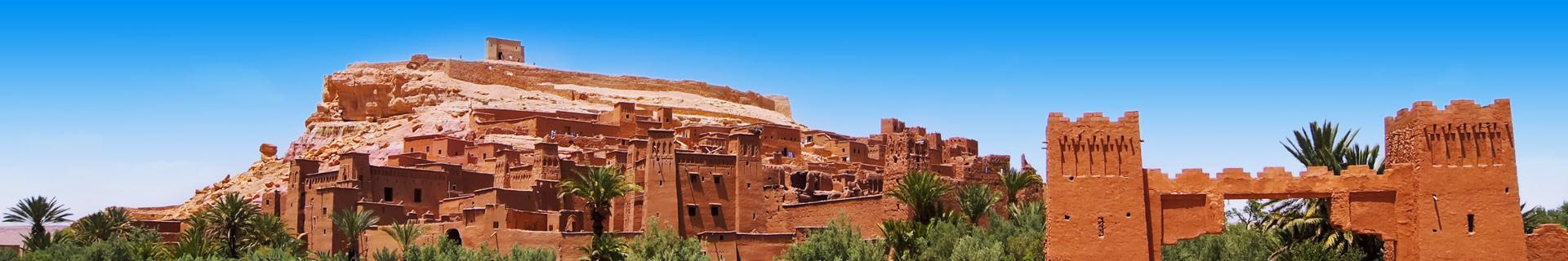 Foto van ruines in Marokko