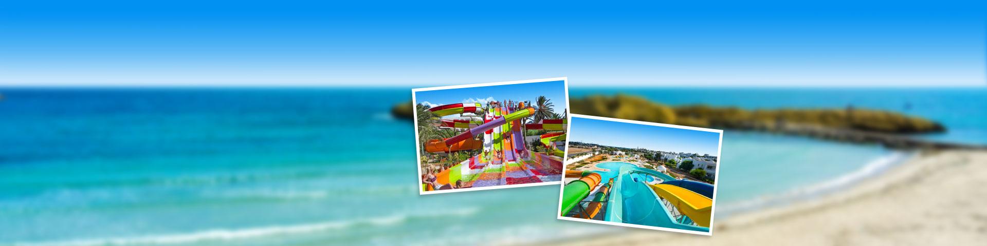 Hotel met waterpark in Tunesië