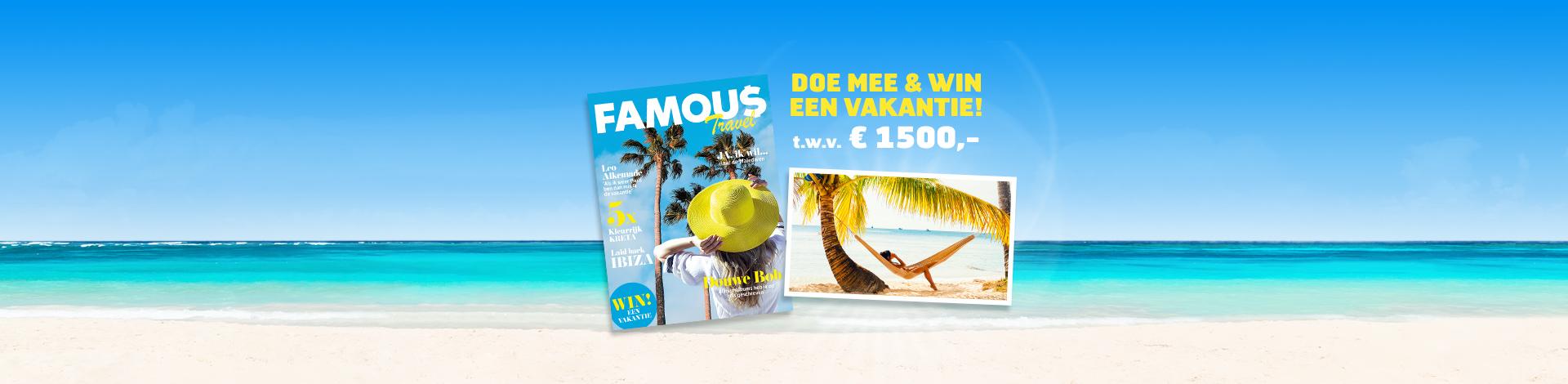 Win een vakantie