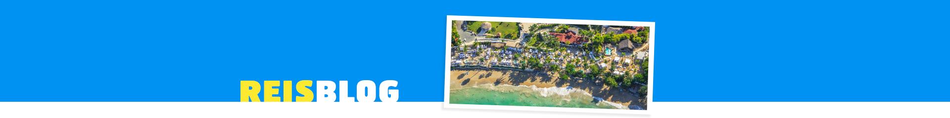 Luchtfoto van een top hotel op de Dominicaanse Republiek